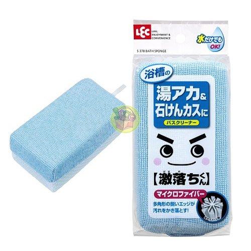 【JPGO日本購】日本進口 LEC 激落君 超細纖維 浴廁清潔海綿#803