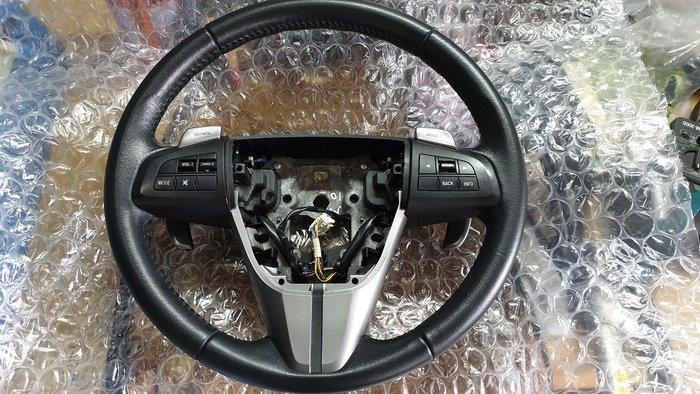 MAZDA 馬3 方向盤 銷售 另有安全帶.儀表板.電腦.氣囊.渦輪.變速箱.水冷風.後視鏡.保桿.各項鈑金銷售