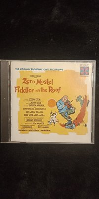 屋頂上的提琴手 Fiddler On The Roof -音樂劇原聲帶 -1986年美國盤 碟片近新 - 301元起標