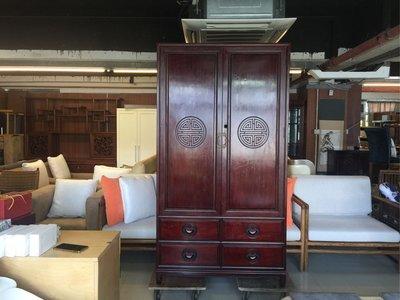 花梨紅木大衣櫃