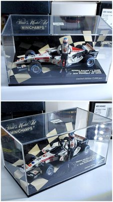 1/43 minichamps honda bar 2006 button F1