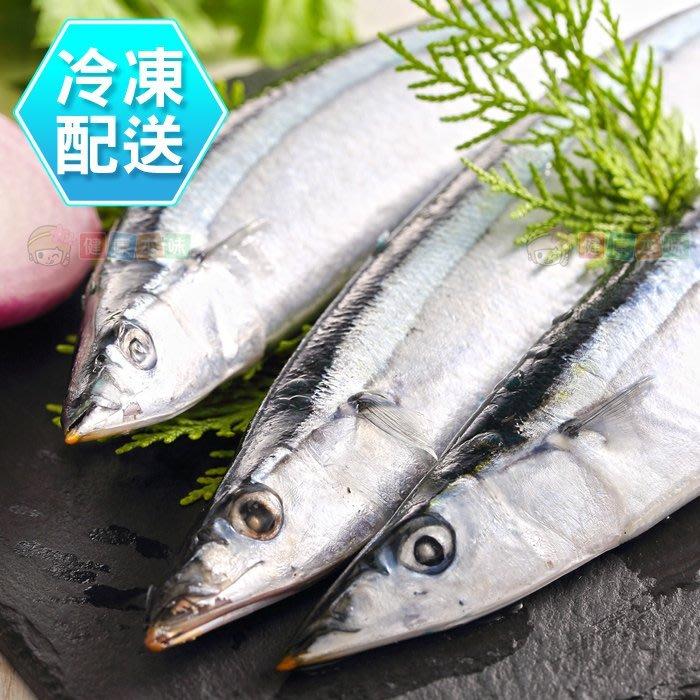 鮮嫩秋刀魚3尾400g 燒烤 烤肉 冷凍配送 [TW00405]健康本味