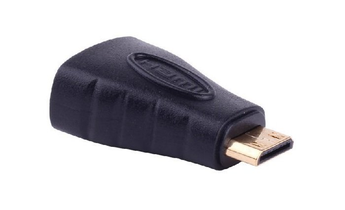 【3C生活家】 MINI HDMI公轉HDMI母 1.4版  轉接頭 轉換頭 數位影像連接