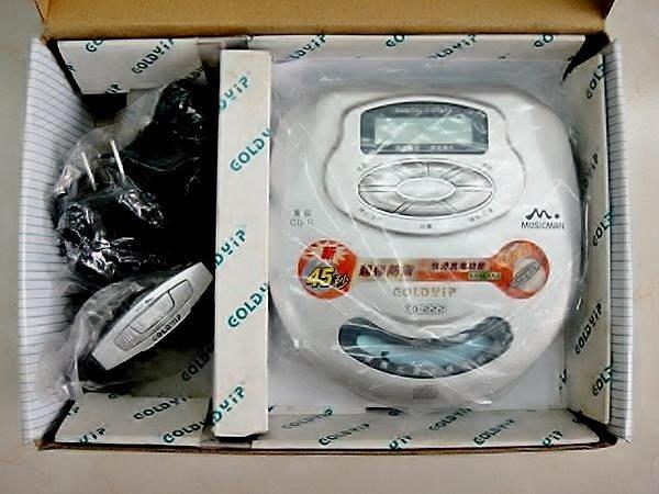 @【小劉家電】 大降價!! CD隨身聽,45秒避震,附重低音耳機,可充電 !!