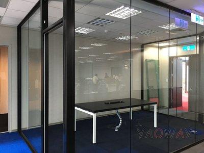 【耀偉】鋁框高隔間 (辦公桌/辦公屏風-規劃施工-拆組搬遷工程-組合隔間-水電網路)4