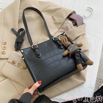 托特包 高級感女士小包包女2020新款潮時尚百搭側背托特包網紅流行手提包 suger