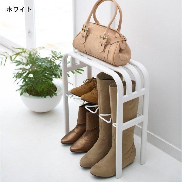 ~FUJIJO~日本存貨款~日本專賣限定【簡易系列】可坐式 靴子 球鞋 高跟鞋 鞋櫃 室內拖鞋專用鞋架2色