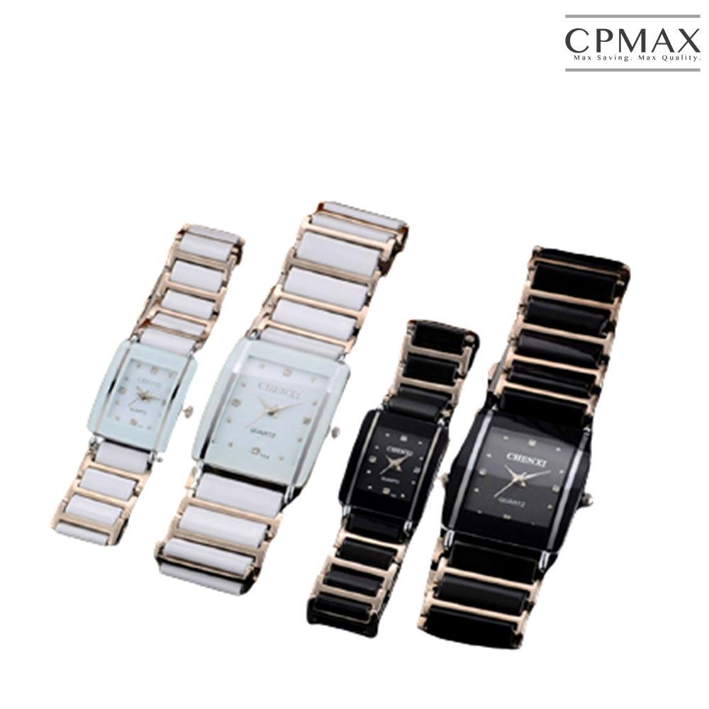CPMAX 韓系陶瓷情侶對錶 男錶 女錶 情侶錶 手錶 石英錶 情侶對錶 對錶 鋼帶手錶 簡約手錶 陶瓷手錶 SW09