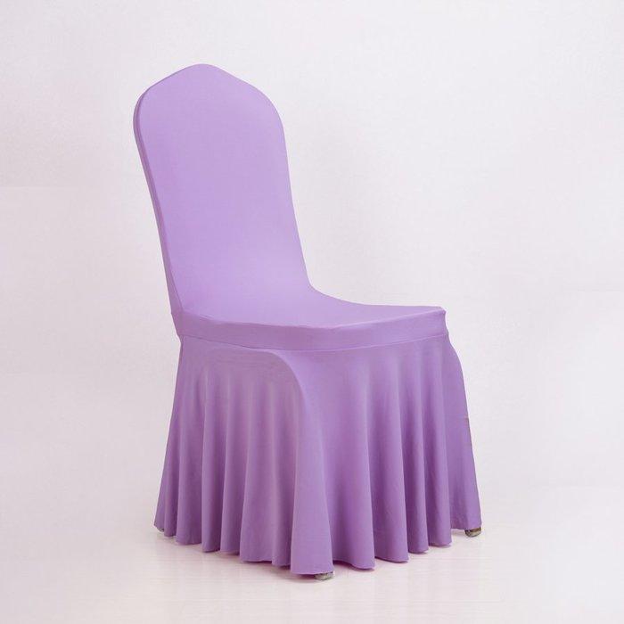 熱賣款彈力連體餐桌椅子套罩家用酒店餐廳婚慶座椅套布藝簡約現代通用#布#墊子#簡約