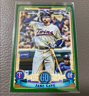 Jake Gave 2019 Gypsy Queen Green RC rookie card #156 in a series of 320