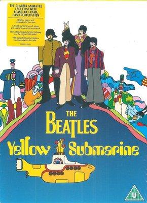 (全新4K數位化電影修復技術製作,全新未拆封)披頭四The Beatles:黃色潛水艇 Yellow Submarine