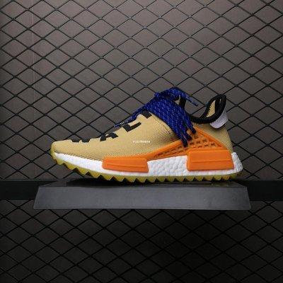 Adidas Human Race 菲董 休閒運動 慢跑鞋 AC7361 男女