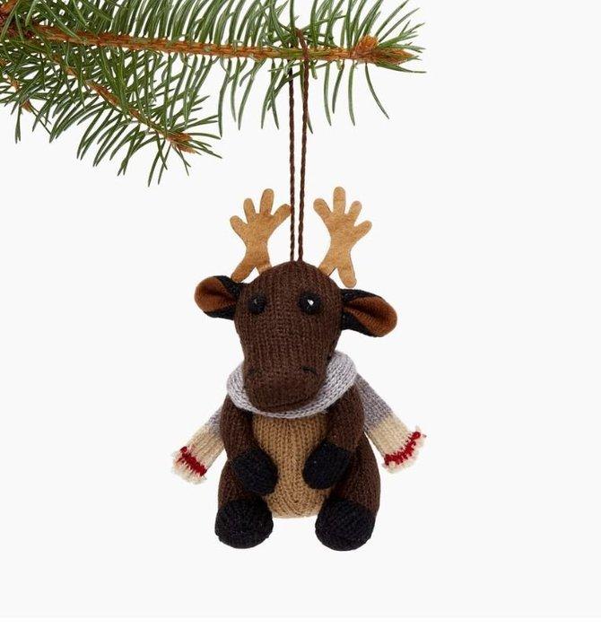 ~☆.•°莎莎~*~~☆~加拿大 ROOTS Woodland Moose Ornament 糜鹿娃娃 ~限量現貨