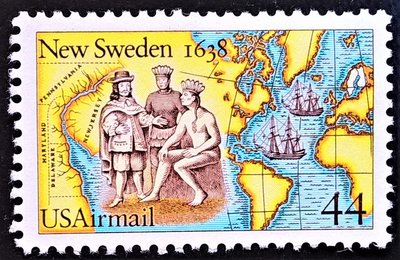 [QBo小賣場] 美國 1988 瑞典新移民 1全 #12201