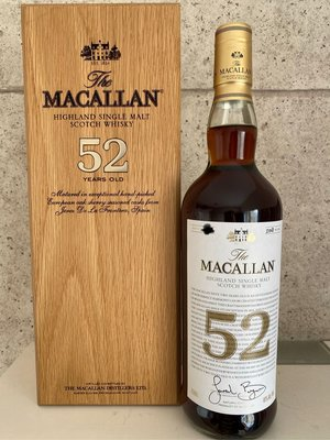Macallan 52 Year Old