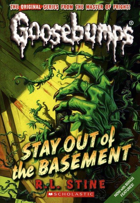 *小貝比的家*GOOSEBUMPS#22:STAY OUT OF THE BASEMENT/平裝/7~12歲/小說