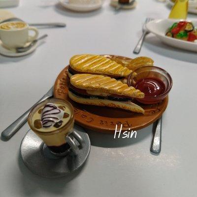 信手作-REMENT絕版食玩-12咖啡美食(1套10個)