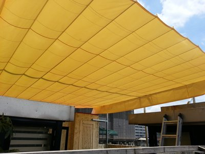 百摺式天幕帆布,遮陽棚,遮雨棚,伸縮帆布