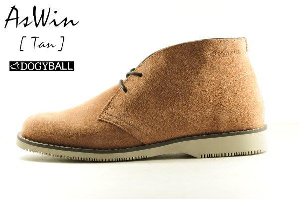 【Dogyball】經典沙漠靴 AsWin防潑水機能 6種城市配色實穿好搭柔軟真牛皮革