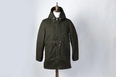 JEANSDA (金斯大)2-WAY Paraffin Waxed Mods Coat 兩用上蠟M51野戰大衣 (軍綠)