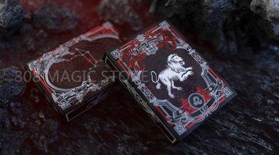[808 MAGIC]魔術道具 808 星座牌 獅子座 Zodiac Portents Playing Card 獅子