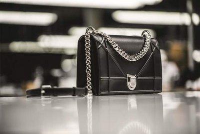 九成新 迪奧 Diorama手提鍊帶包 附收據和101購買證明