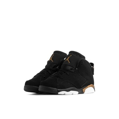 Air Jordan 6 DMP  黑金 中童 小童鞋