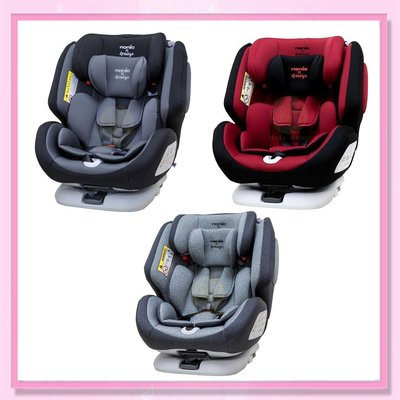 <益嬰房>德國納歐聯名 歐頌 Nania 納尼亞 聯名款 0-12歲 Isofix 360度 汽車安全座椅 FB00