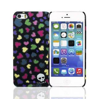 【宇浩電通】Lilycoco iPhone 5 5S SE 設計家系列款 愛心 保護殼 保護套 可掛吊飾 現貨