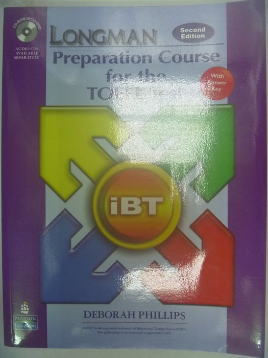 Longman Preparation Course for the TOEFL Test_附光碟 〖語言考試〗AGW