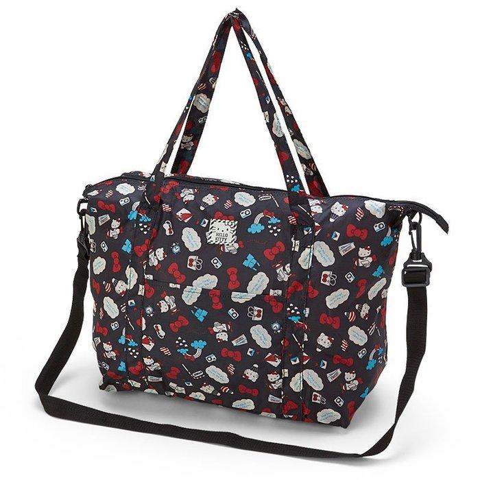 Hello Kitty旅行折疊購物袋2WAY