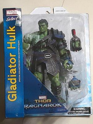 絕版marvel select hulk Legends 系列可動公仔系列Thor 3