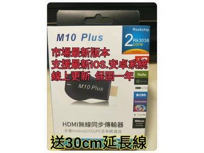 促銷~支援最新雙核Anycast RK3036 Mirroring M10 Plus同屏器+30CM延長線