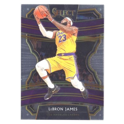 倒數25張!Lebron James / Select Concourse Prizm Base Card #47!老詹Select湖人版金屬卡 2019-20