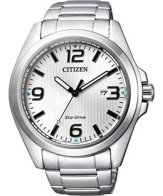 CITIZEN Eco-Drive 光動能品味時尚腕錶(AW1430-51A)-銀/ 43mm 新北市