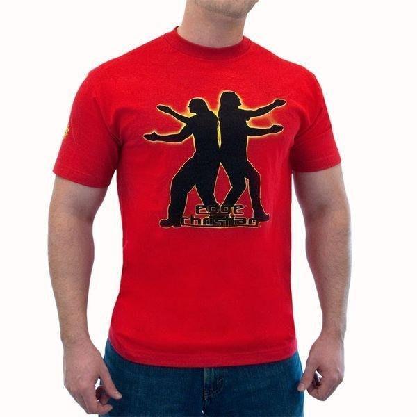 ☆阿Su倉庫☆WWE摔角 Edge & Christian Positively Awesome T-Shirt 復刻款