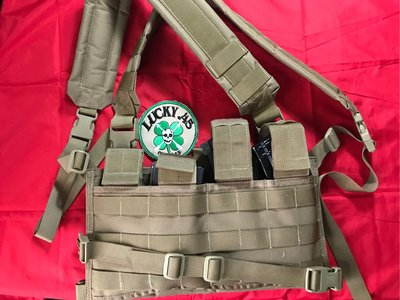 MOLLE Universal Chest Rig-Tan