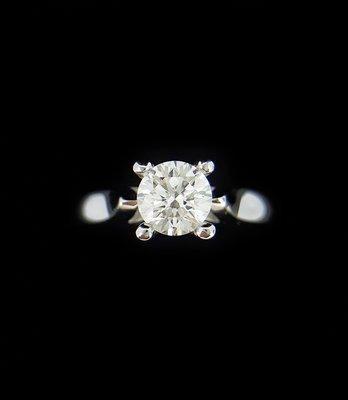 天然鑽石戒指 0.50克拉 女戒