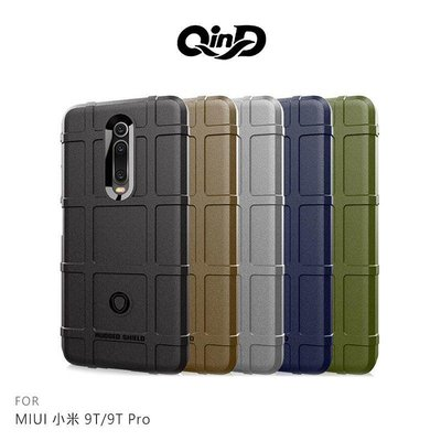*phone寶*QinD MIUI 小米 9T Pro/小米 9T/K20 戰術護盾保護套 TPU殼 手機殼 鏡頭保護