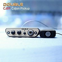 DOUBLE CJ01 木箱鼓專用拾音器/麥克風收音/隨裝即用/免鑽孔 Cajon Pick-up【CJ-01】