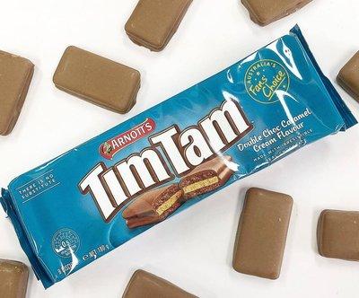 ※澳洲代購-預購※最新Tim Tam 巧克力餅乾-雙層巧克力焦糖奶油(2020.09最新口味) $200