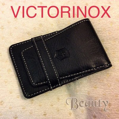 *Beauty*Victorious 瑞士刀具 黑色隨身皮套(2) 真皮 GR 單件賣場