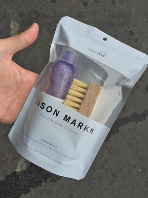 ◇Jason Markk 4OZ Premium Sneaker Solution Set 清潔組 鬃毛刷 洗鞋神器◇