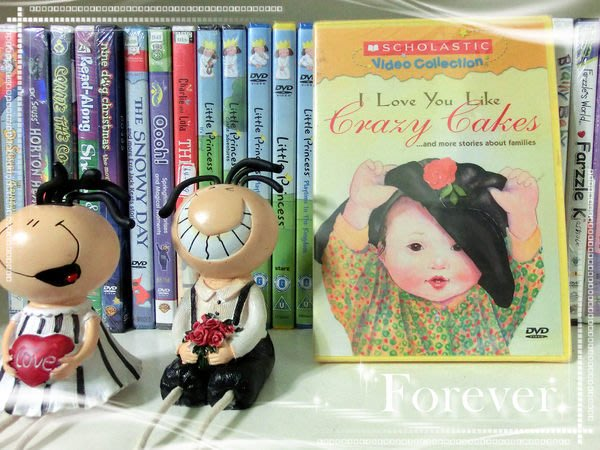 *【英語兒童教育DVD】小pen外文*I Love you like Crazy Cakes ~~