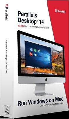 小菱資訊站【鉑勒睿斯 Parallels Desktop14 for Mac Retail Box AP】滿999免郵