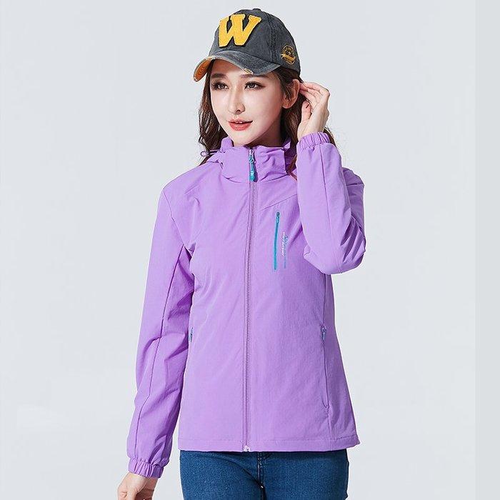 保暖風衣 戶外 衝鋒衣 女潮牌春秋薄款單層  防風 外套情侶防水透氣 登山服 裝西藏