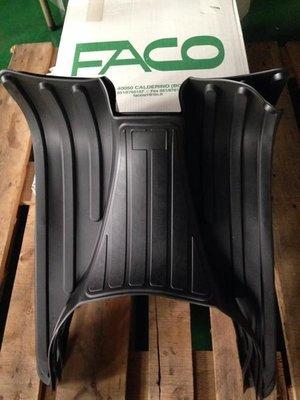 義大利知名 FACO 黑色腳踏墊【VESPA GTS300 / GTV300 專用】