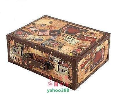 美學4英倫復古旅行箱包intage手提箱登機箱行李箱愛情款 14 16❖54169 台北市