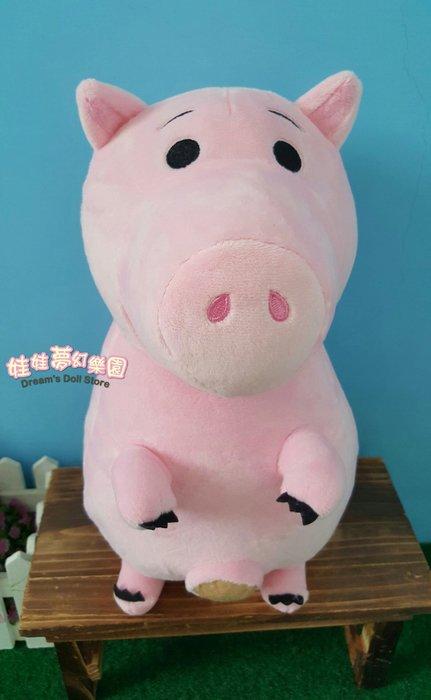 娃娃夢幻樂園~可愛火腿豬娃娃~正版迪士尼~玩具總動員~火腿豬娃娃~生日情人節禮物~全省宅配~高雄可自取
