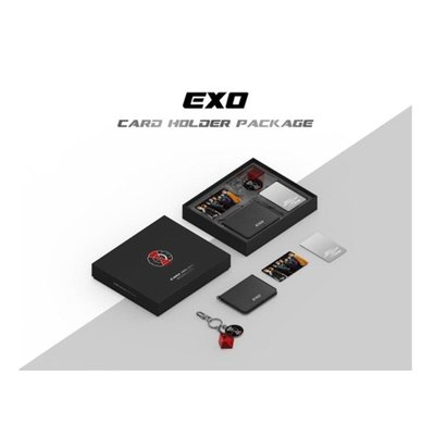EXO Card Holder Package Card Holder + Key Ring + Cashbee Card Stainless Mirror 訂